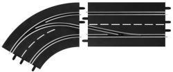 Carrera Digital: Sávváltó kanyarelem (balos, belső sávról külső sávra) 6303621