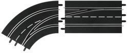 Carrera Digital: Sávváltó kanyarelem (balos, külső sávról belső sávra) 6303638