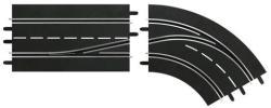 Carrera Digital: Sávváltó kanyarelem (jobbos, belső sávról külső sávra) 6303645