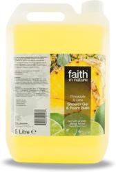 Faith in Nature Ananász-lime Tus És Habfürdő 5000ml