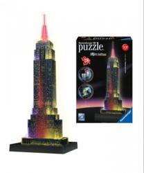 Ravensburger Night Edition - Empire State Building 3D puzzle 216 db-os (12566)