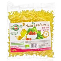 BiOrganik Bio Gluténmentes Fodros Nagykocka tészta 200g