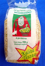 Kalita Durum Tarhonya tészta 500g