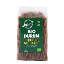 Rédei Bio Teljes Kiőrlésű Durum Spagetti tészta 500g