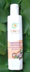 Sanoll Tejszínes-mézes Wellnessfürdő Utántöltő 1000ml