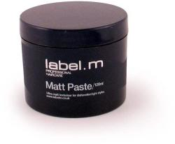 label. m Matt Paste Hajformázó Matt Paszta 50ml