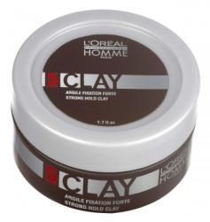 L'Oréal Homme Clay Extra Erős Tartású Wax Matt Hatással 50ml