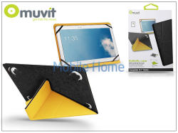 "muvit """"""Butterfly Case 10.1"""""""" - Black/Yellow (I-MUCTB0283)"""""""