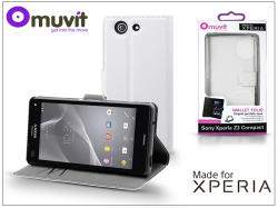 muvit Wallet Folio Sony Xperia Z3 Compact D5803