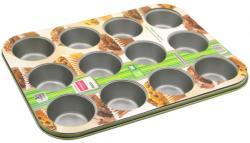Lamart Muffin (12 darab) sütőforma szénacélból - 35x26cm (LT3022)