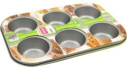 Lamart Muffin (6 darab) sütőforma szénacélból - 26x18cm (LT3021)