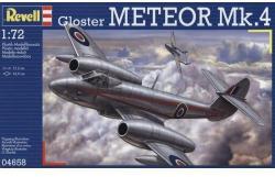 Revell Gloster Meteor Mk.4 1/72 4658