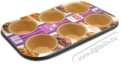 Lamart Szilikon muffin (6 darab) sütőforma - 28x18cm (LT3016)