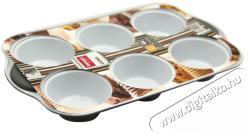 Lamart Muffin (6 darab) sütőforma kerámia bevonattal - 28x18cm (LT3031)