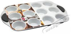 Lamart Muffin 12 darab sütőforma kerámia bevonattal - 41x26cm (LT3032)