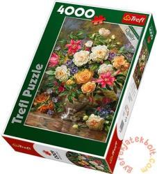 Trefl Erzsébet királynő virágai 4000 db-os (45003)