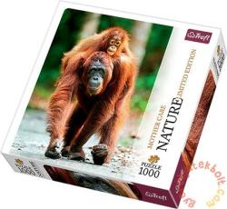 Trefl Nature Limited Edition: Anyai szeretet - Orangután 1000 db-os (10514)
