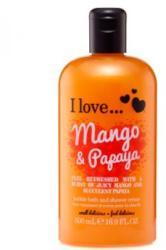 I Love Cosmetics Mango & Papaya Tusfürdő 500ml