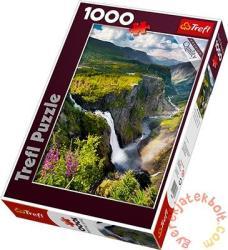 Trefl Vízesés, Norvégia 1000 db-os (10382)