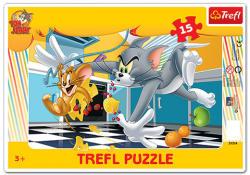 Trefl Tom és Jerry: Konyhai finomságok 15 db-os (31214)