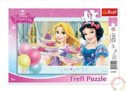 Trefl Disney Princess: Teadélután 15 db-os (31210)