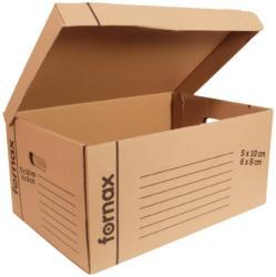 Fornax Archiváló konténer tetővel iratrendezőknek
