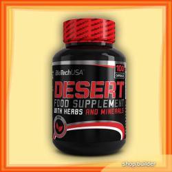 BioTechUSA Desert - 100 caps