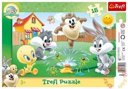 Trefl Looney Tunes: Játék a kertben 15 db-os (31207)