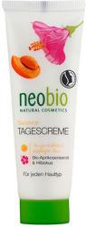 Neobio Nappali krém vegyes bőrre - BIO Sárgabarackmag olajjal és Hibiszkusszal 50ml