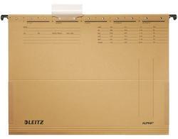 Leitz Alpha Függőmappa oldalvédelemmel A4 karton natúr