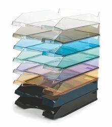 Victoria Irattálca műanyag áttetsző lila (IDTAL)