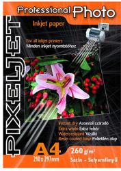 PIXELJET Professional Photo A4 Satin 260g 20db (589046)