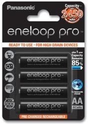 Panasonic Eneloop pro NiMh AA akku 2500mAh 4db-os (HR3UWX4BP)