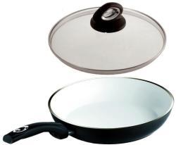 Bialetti Tigaie cu capac 24 cm Ceramic Black Stone