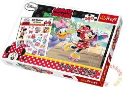 Trefl Minnie és Daisy görkorcsolyázik 160 db-os (90504)