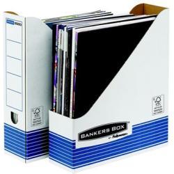 Fellowes Bankers Box System Iratpapucs 80 mm karton kék (IFW00263)