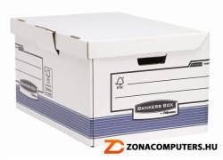 Fellowes Bankers Box System Csapófedeles archiváló konténer kék (IFW11415)
