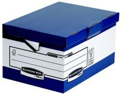 Fellowes Csapófedeles ergonómikus archiváló konténer kék (IFW00489)
