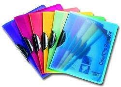 Leitz Color Clip Rainbow Gyorsfűző klippes A4 PP lila (417600650)