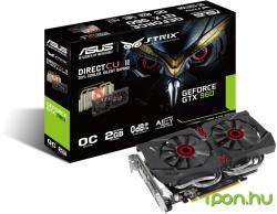 ASUS GeForce GTX 960 DirectCU II OC 2GB GDDR5 128bit PCIe (STRIX-GTX960-DC2OC-2GD5)