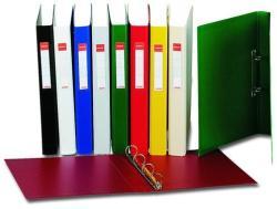Esselte Standard Gyűrűs könyv 4 gyűrű 35 mm sárga