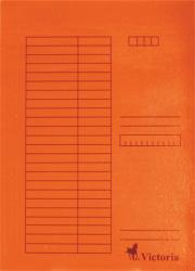 Victoria Gyorsfűző A4 karton narancs (IDPGY08)
