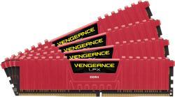 Corsair 16GB (4x4GB) DDR4 3000MHz CMK16GX4M4B3000C15R