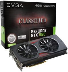 EVGA GeForce GTX 980 Classified ACX 2.0 4GB GDDR5 256bit PCI-E (04G-P4-3988-KR)