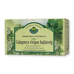 Herbária Galagonya Virágos Hajtásvég Tea 20 Filter