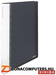 Esselte Vivida Bemutatómappa 40 zsebes A4 feliratozható fekete (623988)