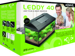 AQUAEL LEDDY 40 (25L/40x25x25cm)