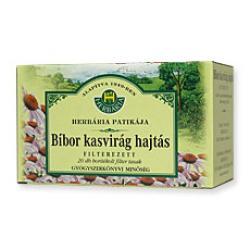 Herbária Bíbor Kasvirág Hajtásvég Tea 20 Filter