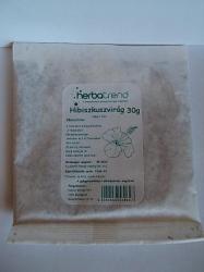 Herbatrend Hibiszkuszvirág Gyógynövénytea 30g