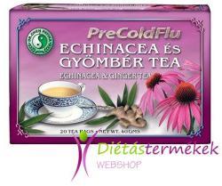 Dr. Chen PreColdFlu Echinacea És Gyömbér Tea 20 Filter